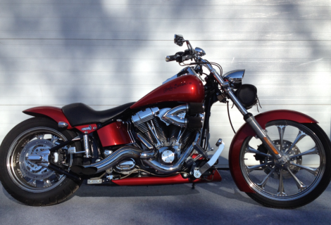 2006 Harley FXST 13,495$