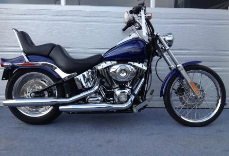 2007 Harley FXSTC 11,495$