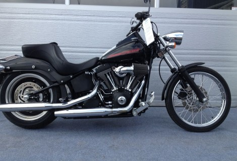 2007 Harley FXSTB NIGHT TRAIN 13,995$