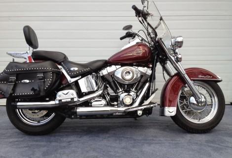 2008 Harley FLSTC Héritage Softail 11,995