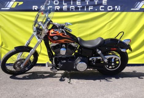 2013 Harley FXDWG 15,495$