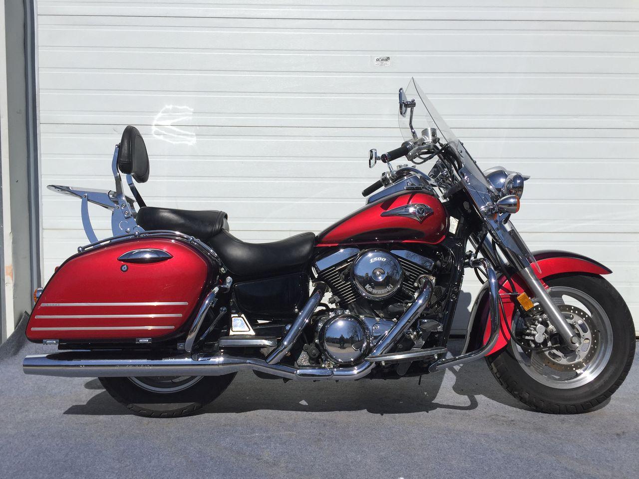 1999 Kawasaki VN1500 Nomad 3,995$